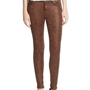 7 for all mankind snake jeans